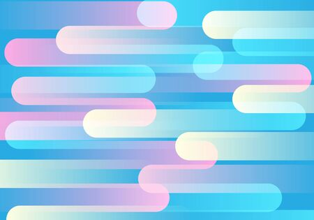 Abstract pastel color apeed pattern design modern futuristic background vector illustration.