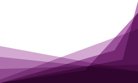 Abstract dark purple triangle overlap on white blank space design modern background vector illustration. 向量圖像