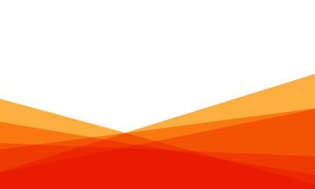 Abstract red orange triangle overlap on white blank space design modern background vector illustration.
