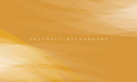 Abstract white curve overlap on yellow design modern futuristic background vector illustration.