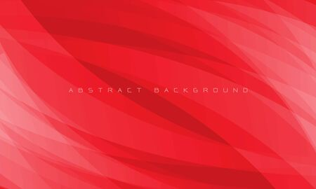 Abstract white curve overlap on red design modern futuristic background vector illustration. 向量圖像
