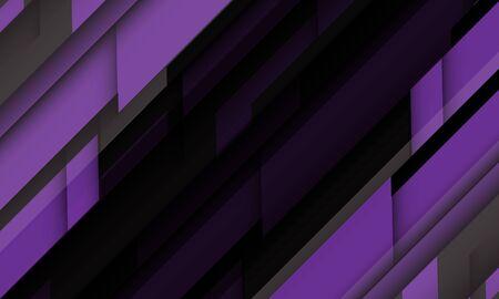 Abstract purple grey geometric black futuristic design modern technology background vector illustration.