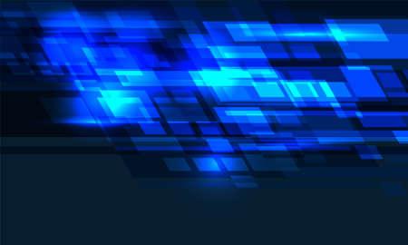 Abstract blue light geometric technology background design modern futuristic vector illustration. 向量圖像