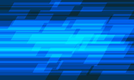 Abstract blue light geometric speed pattern design modern futuristic technology background vector illustration. 向量圖像