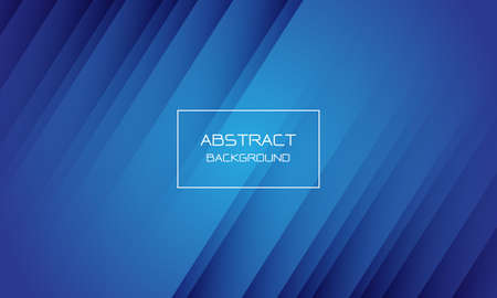 Abstract blue geometric dynamic background texture white frame with text design modern vector illustration.