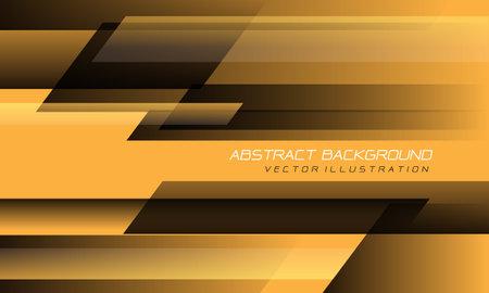 Abstract yellow black speed geometric technology design modern futuristic background vector illustration.