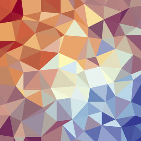 Abstract red blue triangle low polygon geometric luxury background vector illustration.