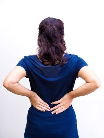 Asian women with chronic back and waist pain.