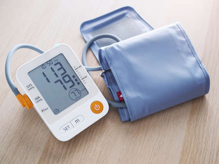 Medical equipment with digital blood pressure monitor