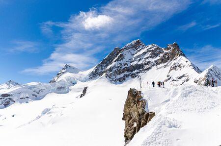 The Jungfrau summit