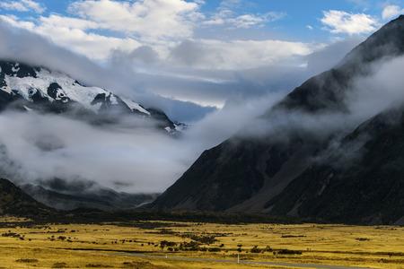 Mount Cook, New Zealand photo