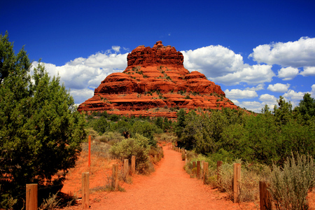 Bell Rock located in Sedona, Arizona red rock country
