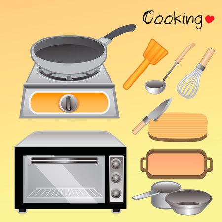 I love cooking Illustration