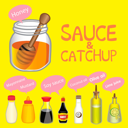 soy sauce: Sauce lindo y Catchup