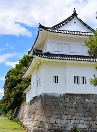 The Southeast Watchtower (Tonan Sumi-Yagura) of Nijo Castle, Kyoto, Japan
