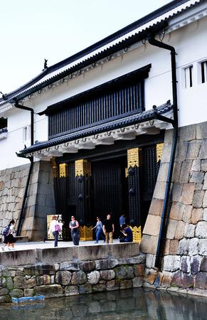 The East Gate (Higashi Ote-man) of Nijo Castle, Kyoto, Japan