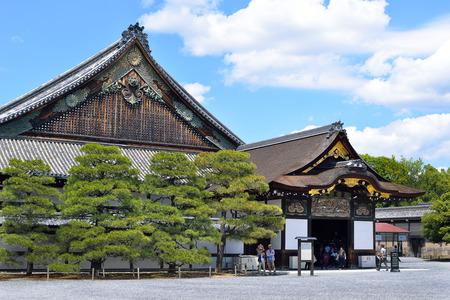 Ninomaru-goten Palace, Nijo Castle, Kyoto, Japan Editorial