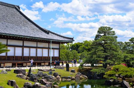 Ninomaru Palace and Garden, Nijo Castle, Kyoto, Japan Editorial