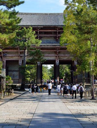 Nandaimon Gate, Nara, Japan