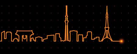 in profile: Tokyo Light Streak Profile