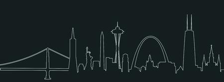 アメリカ合衆国都市のランドマーク プロファイル