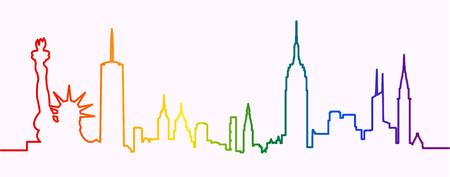 New York Gay-Friendly Silhouette