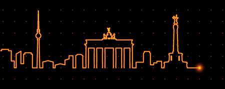ベルリン光ストリーク プロファイル