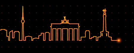 Berlin Light Streak Profile
