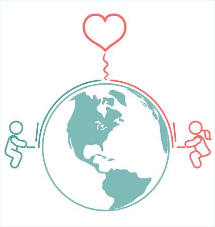 distance: Internet Long Distance Relationship