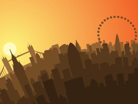 in profile: London Sunset Profile