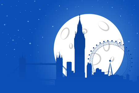 london night: London Night Silhouette
