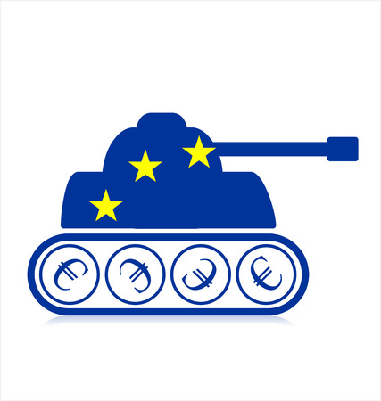 economic: European Union Economic Power Illustration