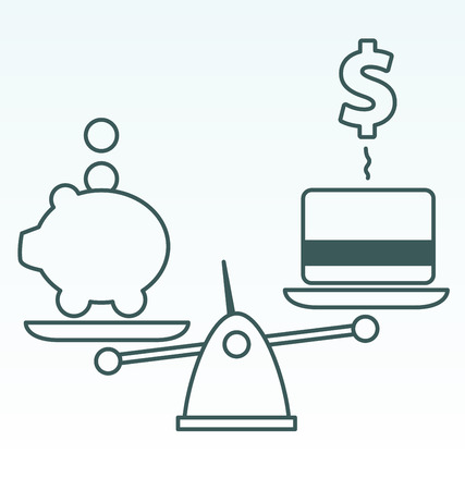 leverage: Savings vs. Debt Illustration