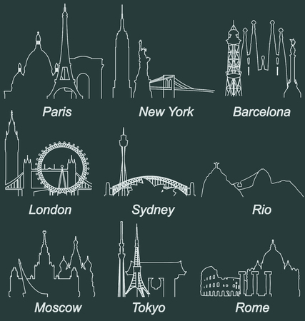 famous cities: World Famous Cities Landmarks