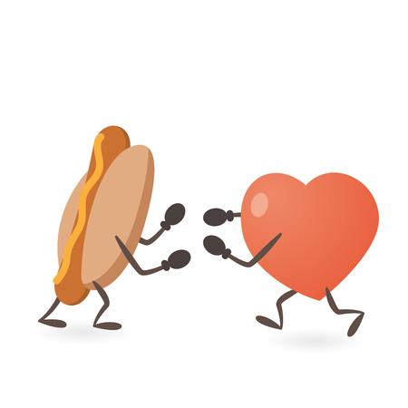 kampfhund: Heart and Hot Dog Fighting