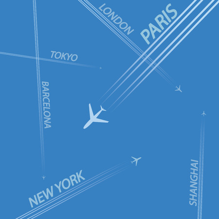 destinations: Airplanes Flying and World Destinations