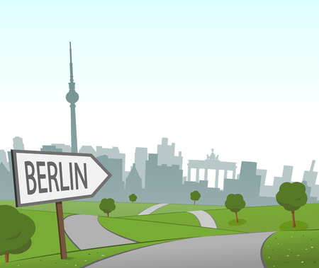 hill distant: Road to Berlin