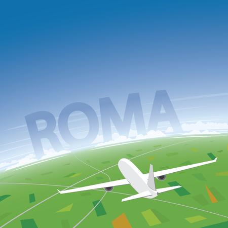 conventions: Rome Flight Destination