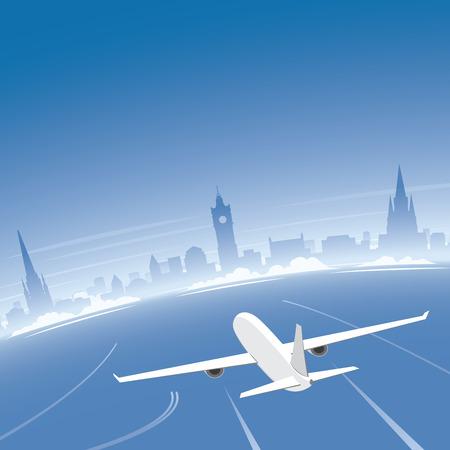 Edinburgh Skyline Flight Destination
