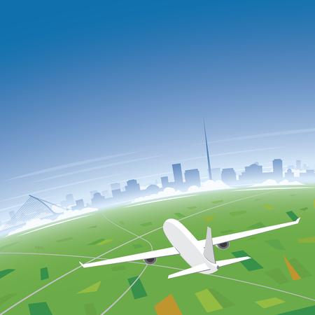 Dublin Skyline Flight Destination