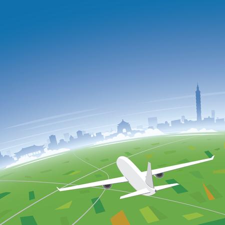 conventions: Taipei Skyline Flight Destination