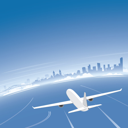conventions: Panama Skyline Flight Destination
