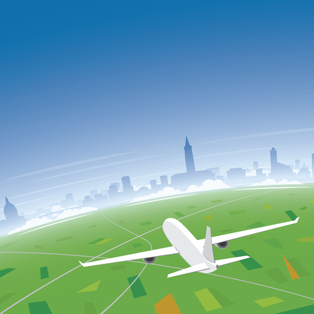 toulouse: Toulouse Skyline Flight Destination