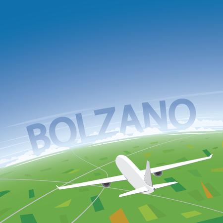 Bolzano Destination Vol Vecteurs