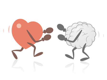 Heart and Brain Fighting