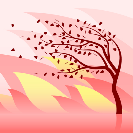 Burning Tree and Wildfire