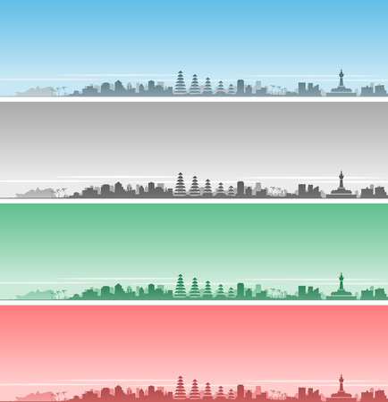 Denpasar Skyline Event Banner