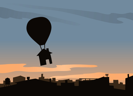 House Flying and Balloon
