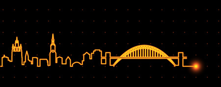 Newcastle Light Streak Skyline