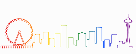 Seattle Gay-Friendly Skyline